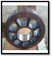 Trolley Wheel Castings