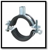 Rubber Pipe Clamping Profiles